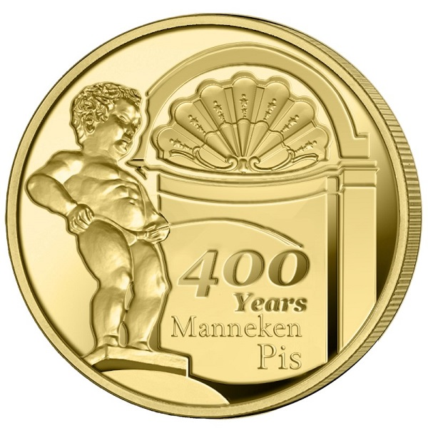 400 years of Manneken-Pis souvenir coin