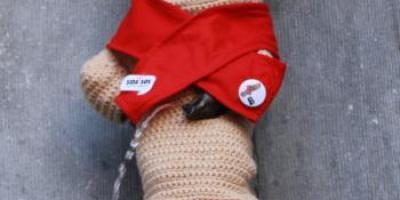Manneken-Pis - World AIDS Day