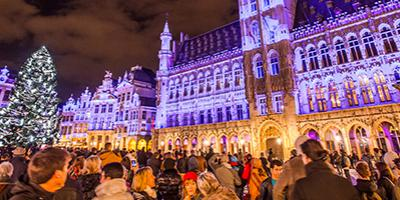 Grand-Place LED lights