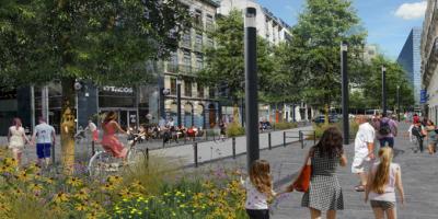 Boulevard Adolphe Max redevelopment