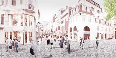Reconstruction of the Rue Neuve