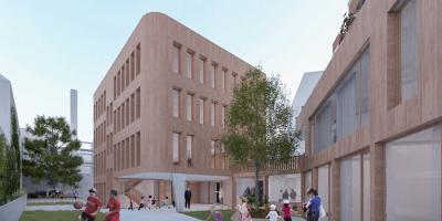 Rue de la Senne school and housing