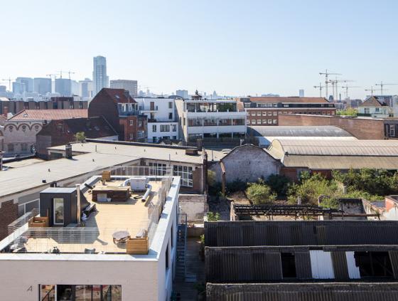Urban blocks research for Laeken