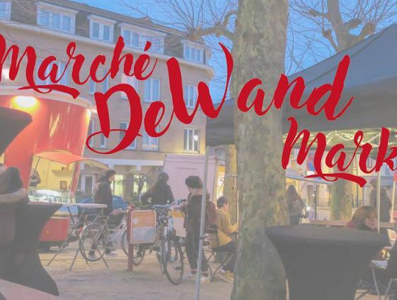 'Ferme Urbaine' and Parckfarm at the De Wand market
