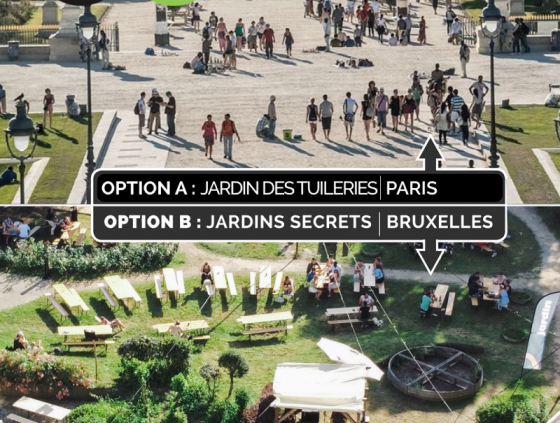 Discover Brussels with Option B