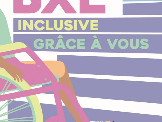 Inclusive Brussels thanks to you