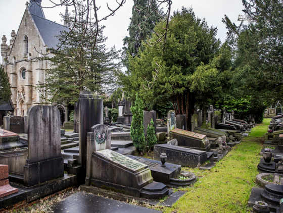 Cemeteries closed due to heavy winds