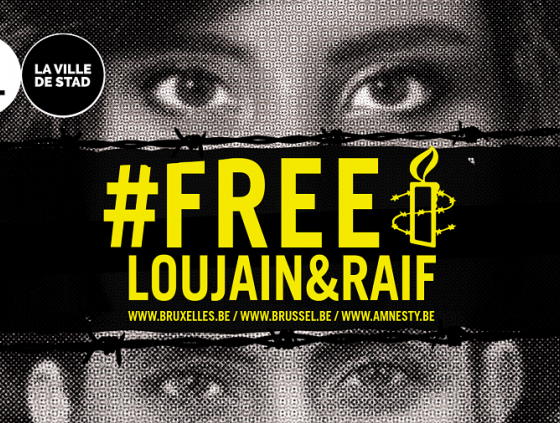 Support of Loujain al-Hathloul and Raif Badawi