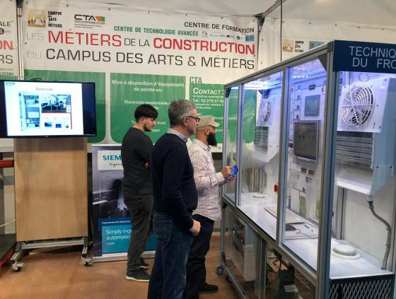 Campus des Arts & Métiers at the Batibouw fair