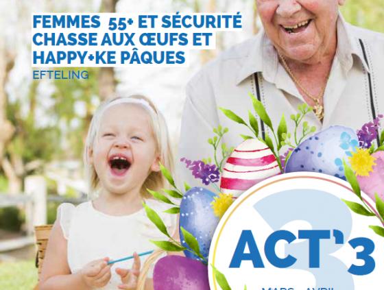 Seniors. ACT'3 March-April