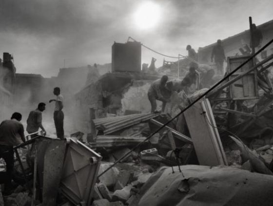 Syrie, Alep, 2013 © Stanley Greene / NOOR Images