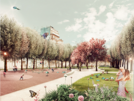 Workshop. Redevelopment of the Square Marguerite Duras (online)