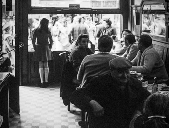 Exhibition. Estaminets and cafés, Brussels stories