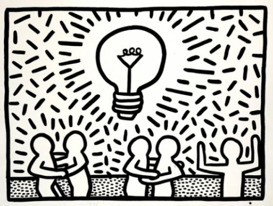 Exhibition. Keith Haring