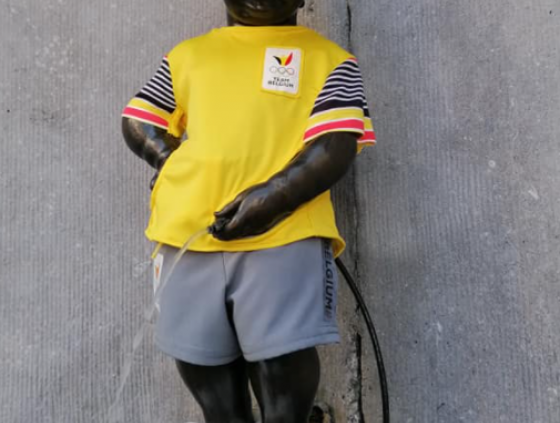 Manneken-Pis and the Olympic Games