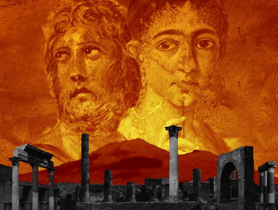 Pompeii, the Immortal City