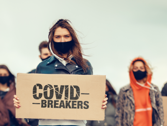 'Covid Breakers' campaign for young people