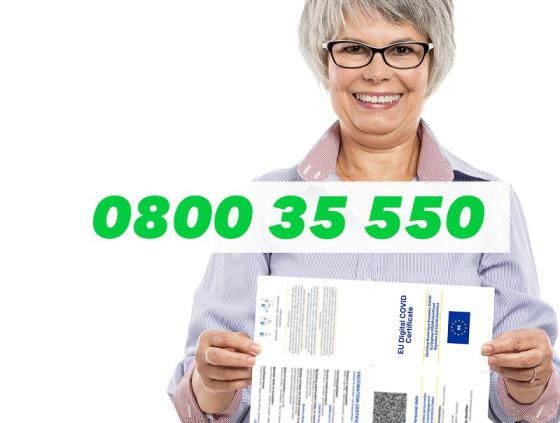 Covid Safe Ticket: aid for seniors