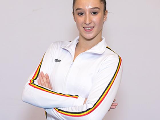 Nina Derwael wins National Sports Merit Award2018