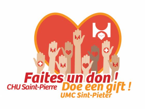 CHU Saint-Pierre call for donations