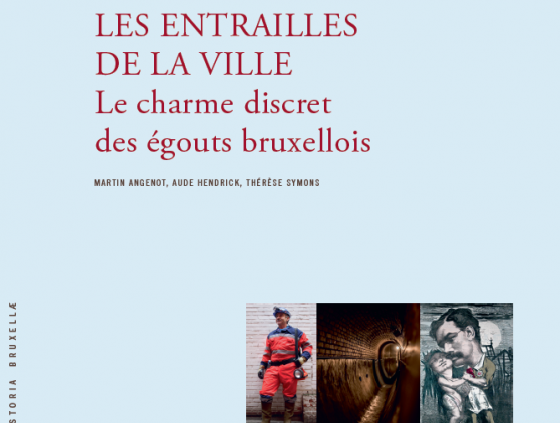 New book about sewers of Brussels
