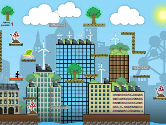 Ecorun, the Climate Plan video game
