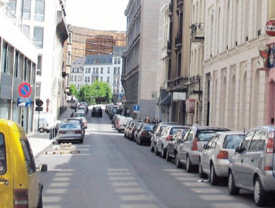 Traffic safety changes at the Rue du Champ de Mars