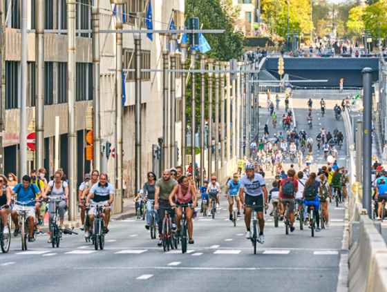 Car Free Sunday in Brussels on 19 September 2021