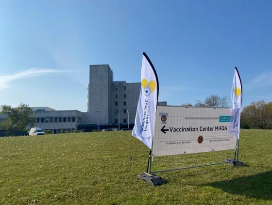 Opening of the Neder-Over-Heembeek vaccination centre