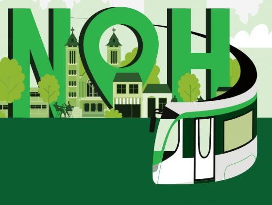 New tram at Neder-Over-Heembeek