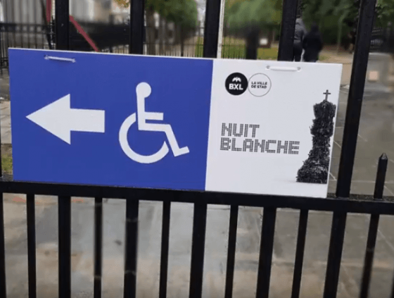 Accessibility award for Nuit Blanche