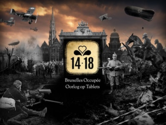 """Application """"14-18: occupied Brussels"""""""