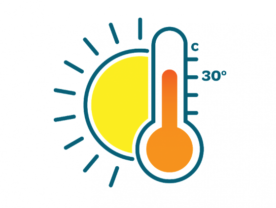 Ozone and heat plan activated
