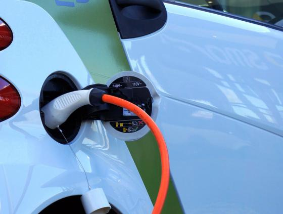 First public charging point for electric cars