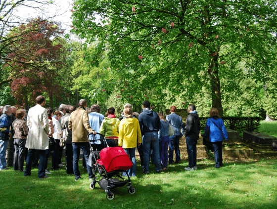 Guided walks in the Brussels parks