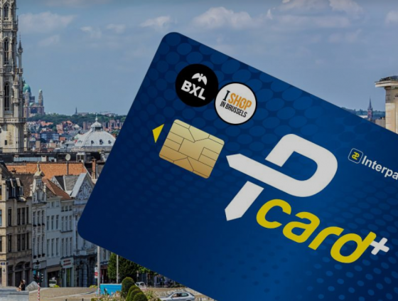 Pcard+ with advantageous rates in Brussels