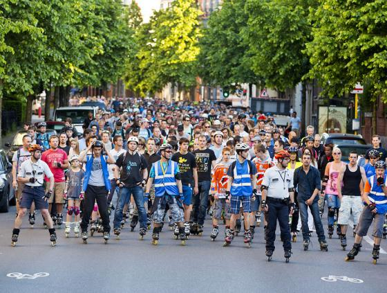 Roller Bike Parade from 9 July to 1 October 2021