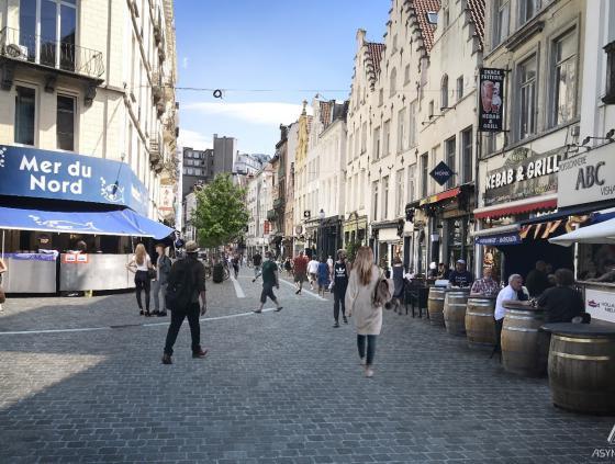 Rue Sainte-Catherine redevelopment