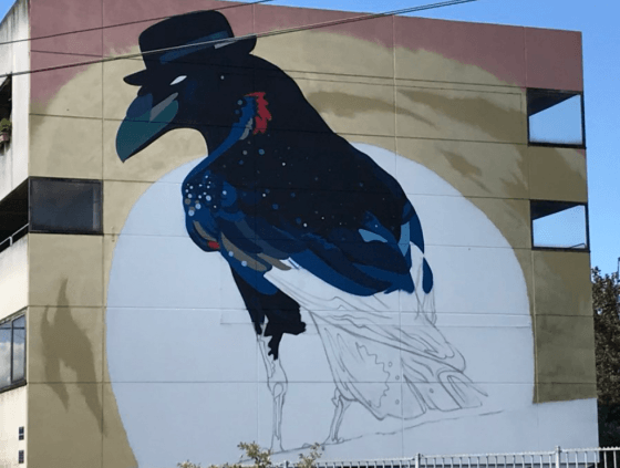 Street art wall by Sozy-One