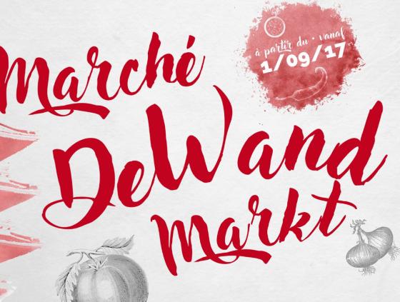 New market at the Rue de Wand
