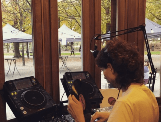 Web radio at the Brussels Park