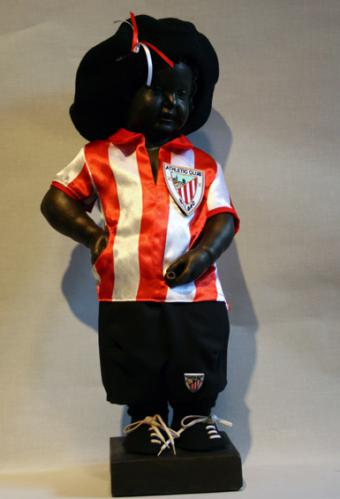 Manneken-Pis at Athletic Club Bilbao