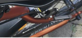 Engraving of bikes: engraved bicycle, protected bicycle