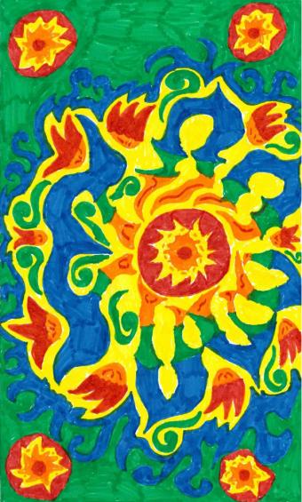 Marolles Flower Carpet