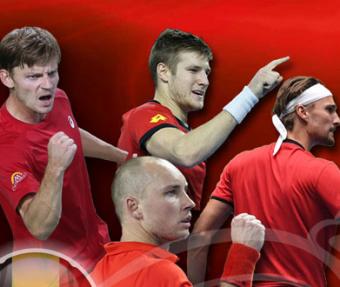 Davis Cup. Belgium - Australia