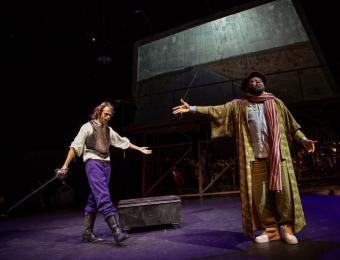 Theatre. L'Homme de La Mancha