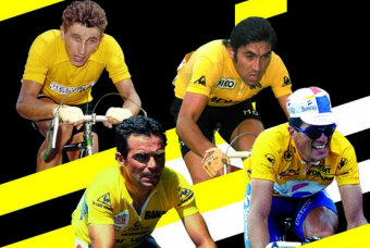 Exhibition. 100th anniversary of the Maillot jaune