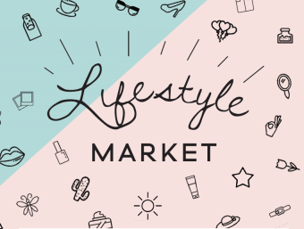 Lifestyle market at the Place Sainte-Catherine
