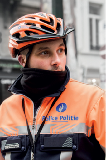 Information day of the Brussels Capital Ixelles police