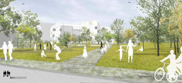 Jardin aux Fleurs sustainable district contract